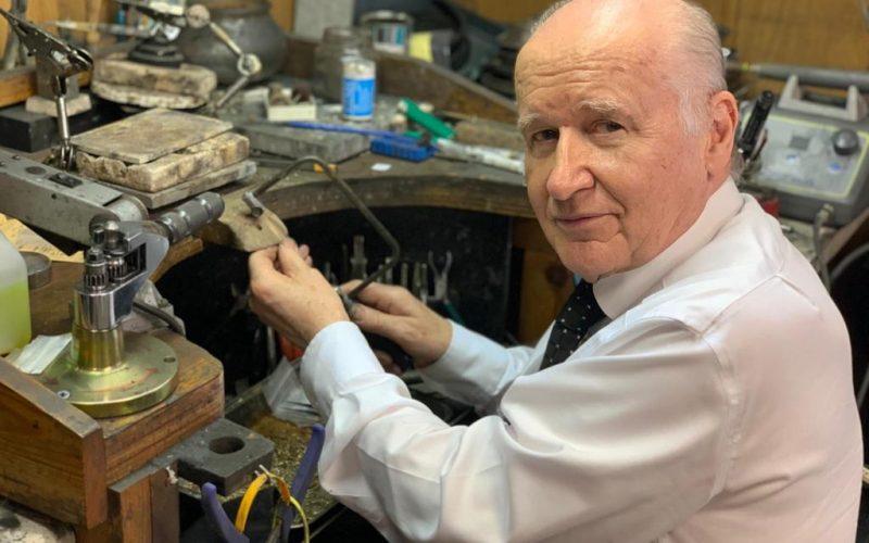 Swansea Local Jeweller Patient Cataract Working