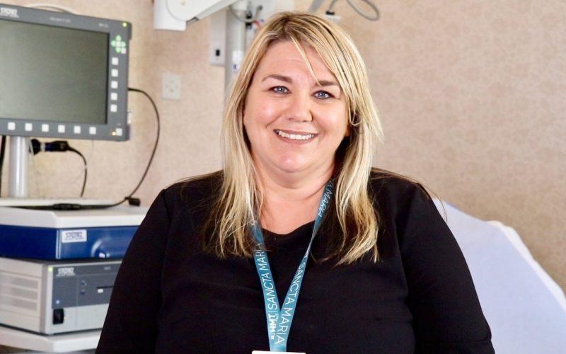 Claire Evans HMT Sancta Maria Hospital Customer Services Supervisor