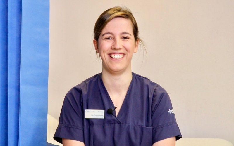 Lauren Nicholas HMT Sancta Maria Hospital Deputy Theatre Manager