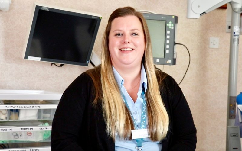 Emma Santavy HMT Sancta Maria Hospital Customer Service Supervisor