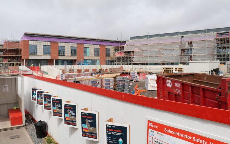 HMT Sancta Maria Private Hospital SA1 construction exterior